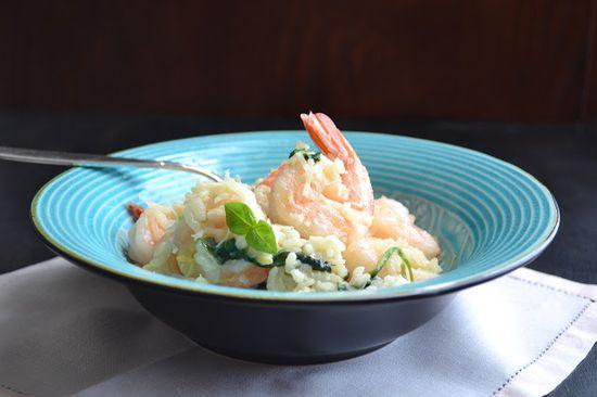 Shrimp and Feta Risotto by tasteloveandnourish #Risotto #Shrimp #Feta