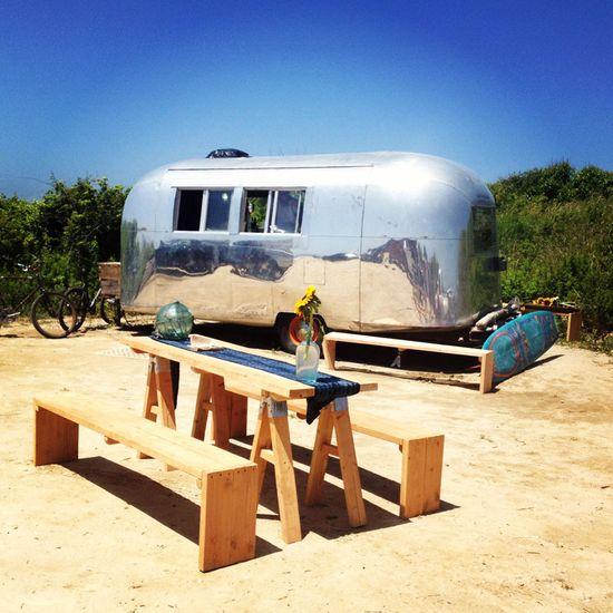 #ROXYMontaukClassic August 3 & 4.... Airstream Food Truck At Ditch Plains Beach  www.roxy.com/...