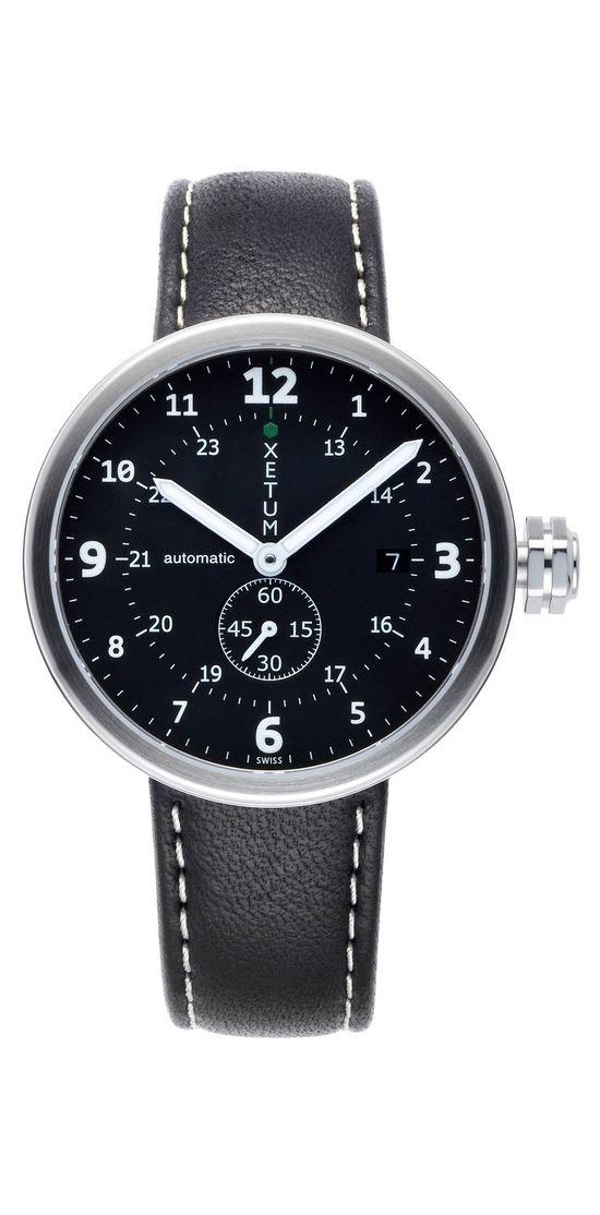 Xetum Tyndall men's watch - #watches #fashion #design #modern #menswear #horology #Swiss watch #mens style #mens watch #Automatic Watch #wrist watches #modern design