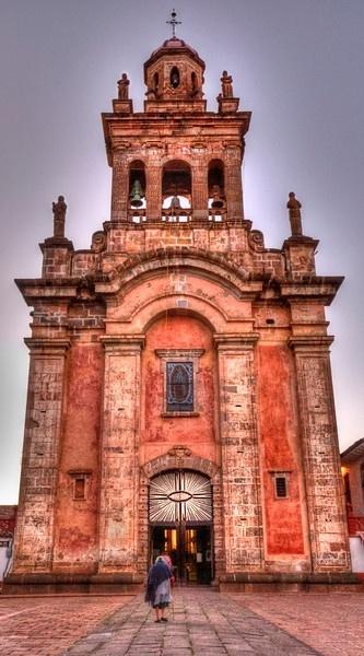 church Patzcuaro, Michoacán México