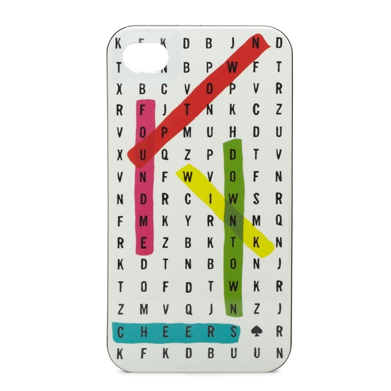 WORD SEARCH IPHONE 4 CASE