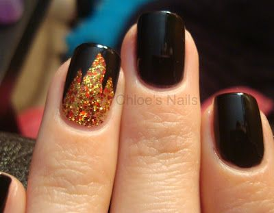 Hunger Game nails by Chloe's Nails