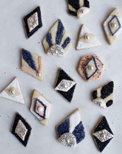 Deco cookies.