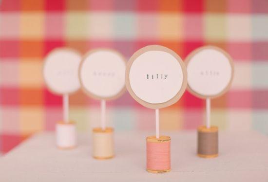 cute DIY place cards