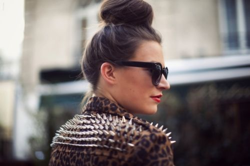 Spiked leopard ~Inspired by Batiste's Wild Dry Shampoo~