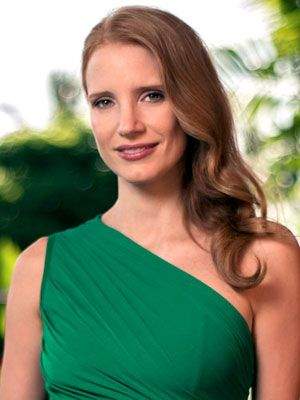 The best hair color for fall: Jessica Chastain www.cosmopolitan....