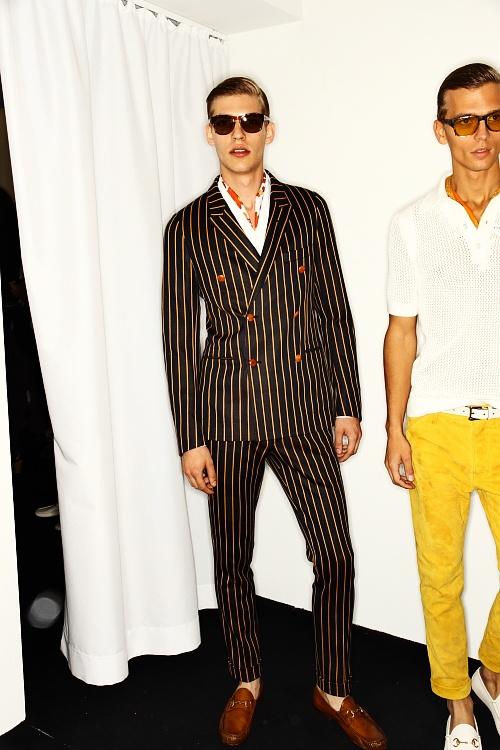 GUCCI SS13 Men Fashion Show Milan Backstage