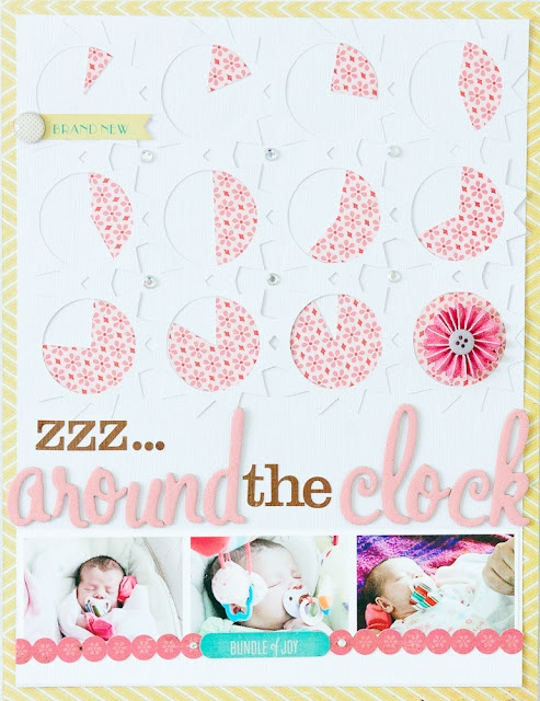 zzz...Around the Clock - Teka Cochonneau - For Crate Paper