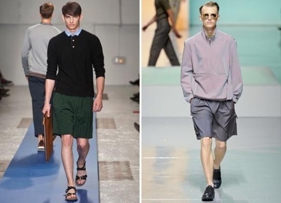 Men's Fashion Trends Spring-Summer 2013 N° 1: The Bermuda XL