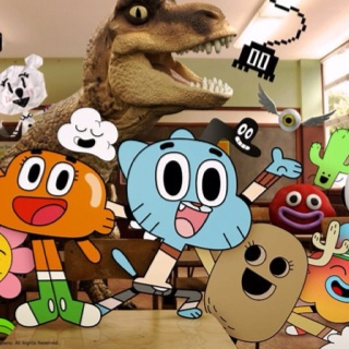 The Amazing World of Gumball?? Love this show! It's so funny!! :D