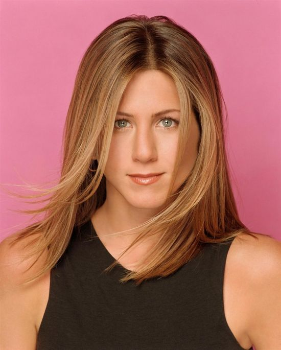 Jennifer Aniston one of the Top Ten Hollywood Celebrities 2012