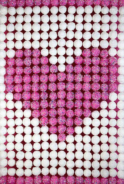 Heart Cake Pops by Bakerella, via Flickr