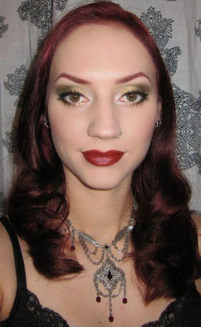 Golden Olive Eye Makeup Look