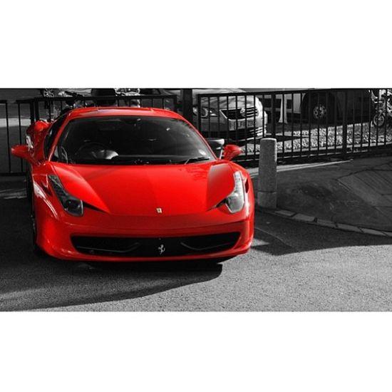 Sexy Red Ferrari 458 Italia www.facebook.com/...