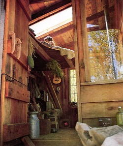 Image of Cabin from Handmade Houses by Art Boericke and Barry Shapiro