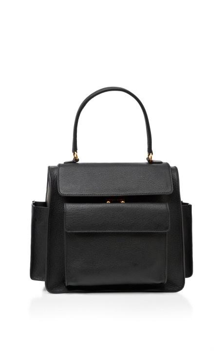 Multi-pocket Leather Handbag by Marni