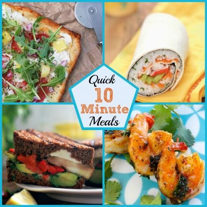 Tasty 10-Minute Meals