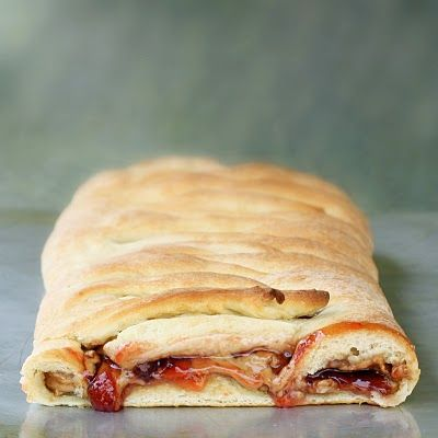 peanut butter & jelly braid