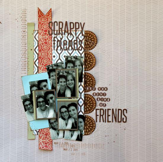Scrappy Friends - Scrapbook.com