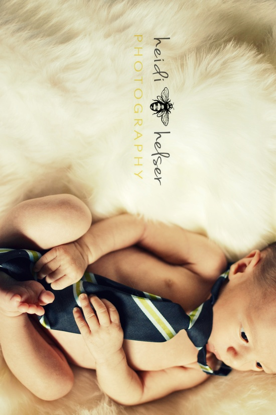 love this idea with daddy's tie too