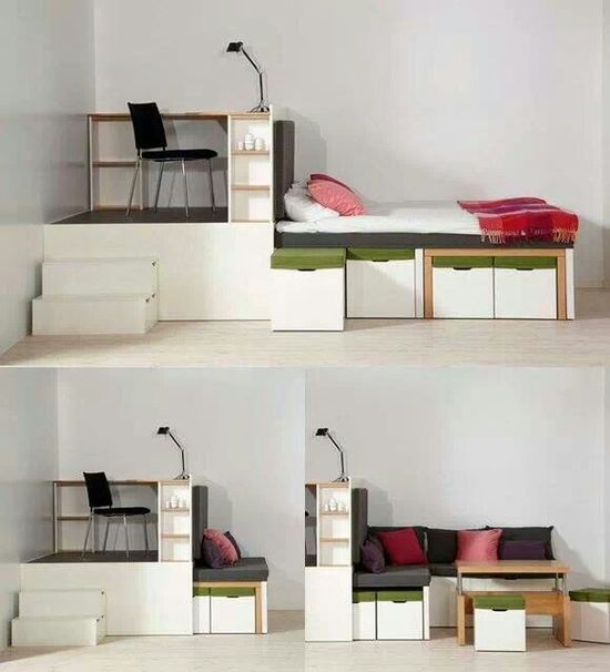 Creative bed room