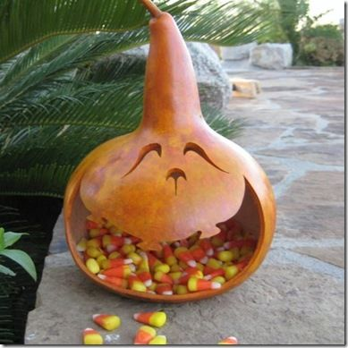 gourd candy dish