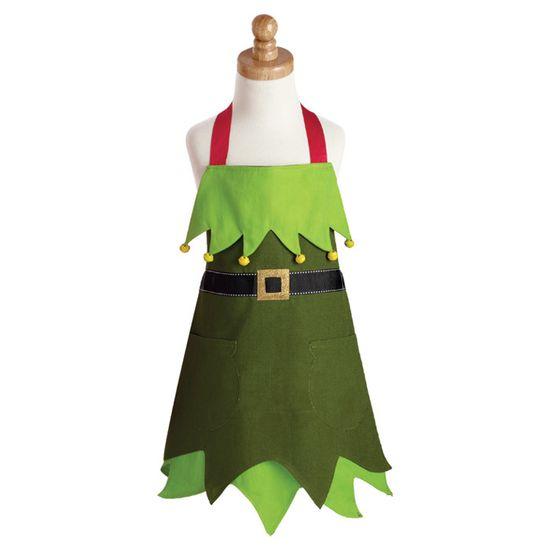 Elf Kids Apron