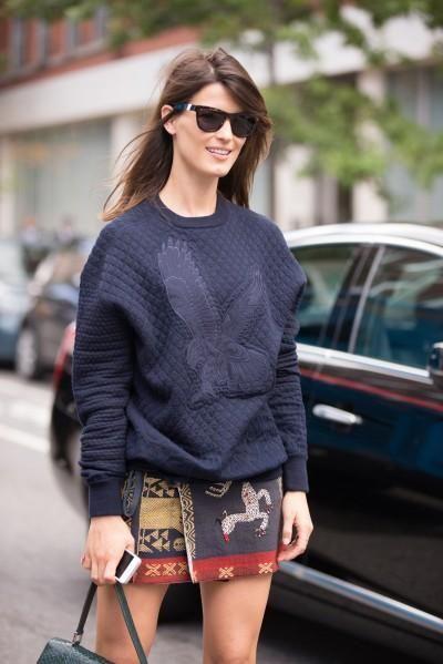 Stylish sweatshirts! (Photos by Mark Iantosca)