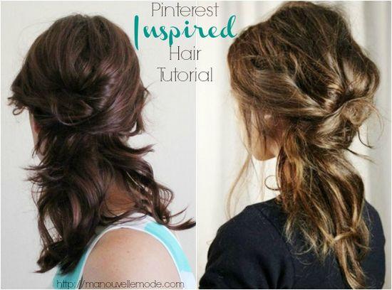 Quick & Easy 4 Step Hair Tutorial