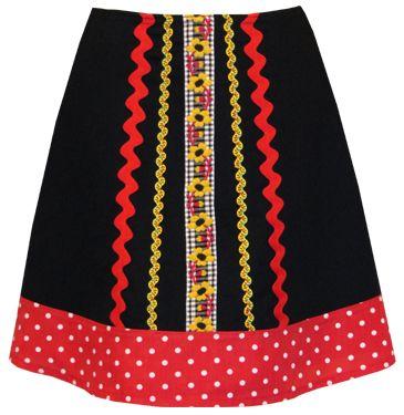 black eyed susan skirt