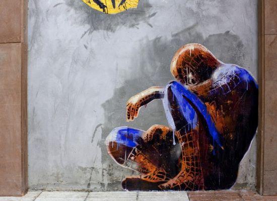 Street Art: Sr. X : Artist