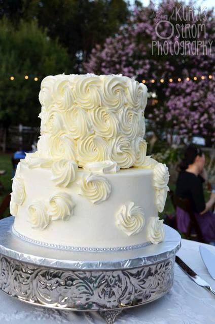 Cake at a Country Wedding Ideas #country #weddingideas