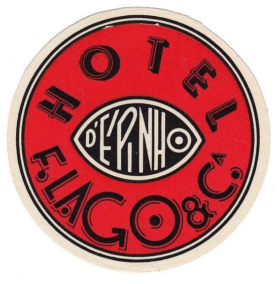 Portogallo - Epinho - Hotel F. Lago by Luggage Labels