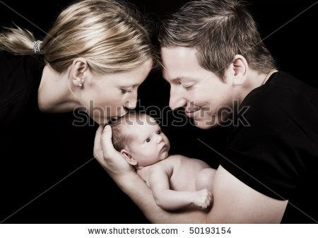 pictures of first baby photos with parents - Google Search