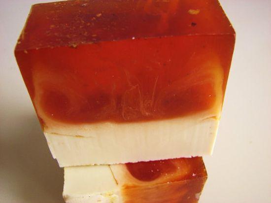 Tangerine Birch Soap  Vegan Handmade Soap by DeShawnMarie on Etsy, $4.95