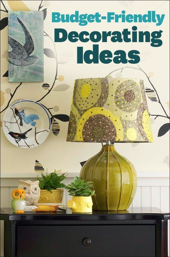 Are you decorating on a budget? Get inspired by our pocket friendly decorating ideas!