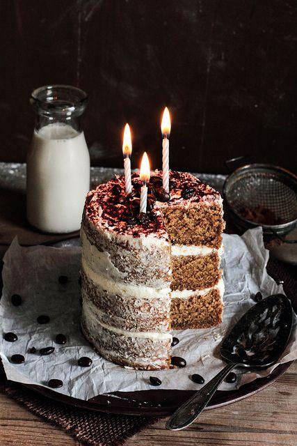 White Chocolate Espresso Cake, via Flickr.