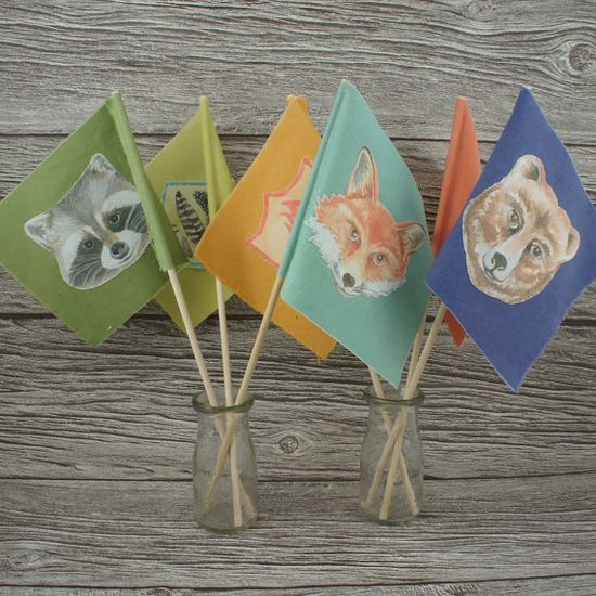 Wilderness Party Flags