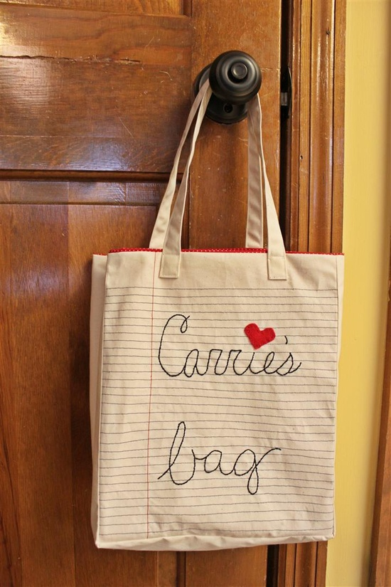 DIY: 'paper' bag