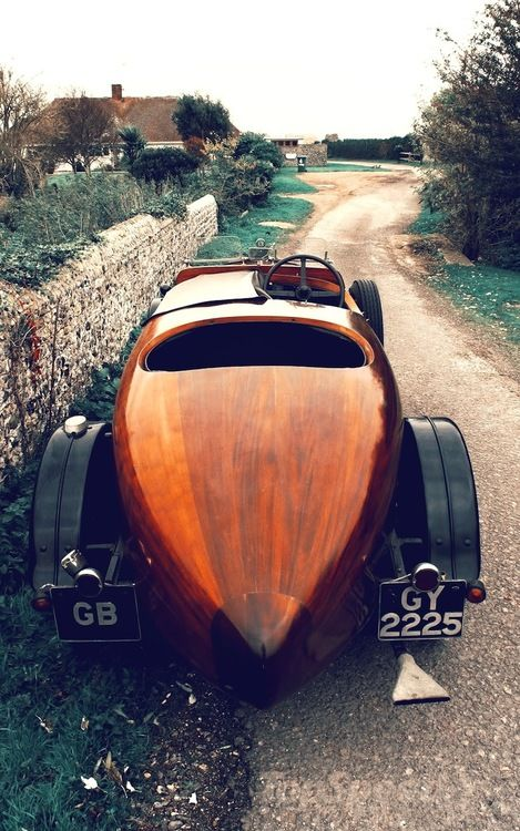 1932 Talbot. Yes, it's wooden.  Wow...