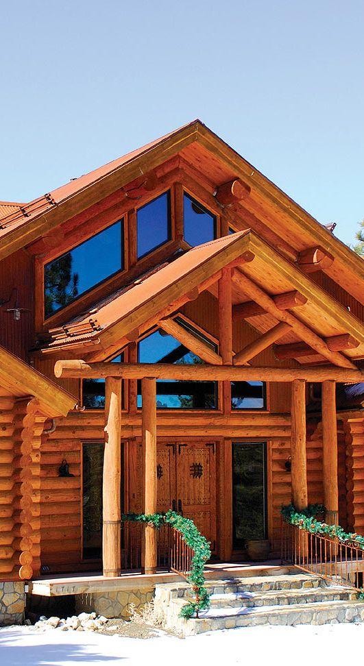Muskoka log homes