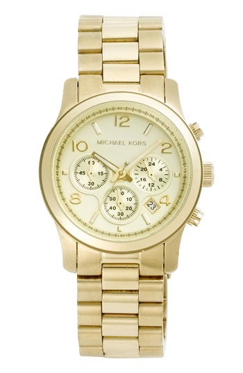 Michael Kors makes the most beautiful watches.  I have this one....now I need a couple more...