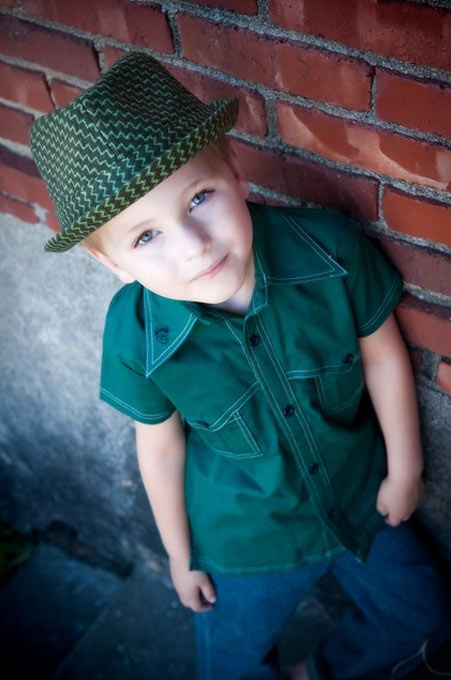 "Love styling outfits for the kids - really would like to see little people dress ""cool"" not ""sappy""."