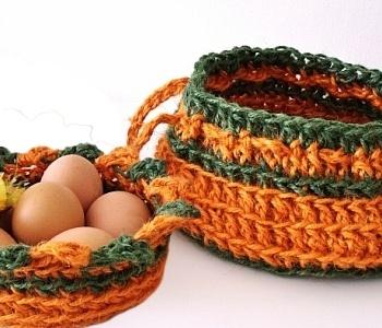 Ravelry: Crochet Jute Basket pattern by Lynn Szwalkiewicz