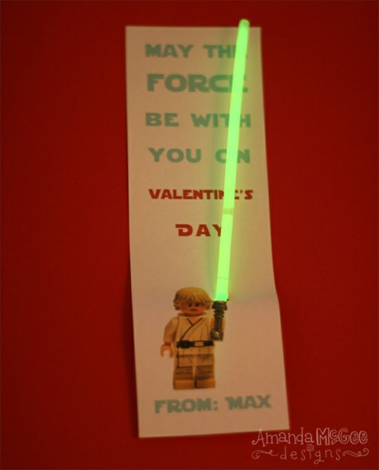 Perfect for a boy Valentine! Doing this.