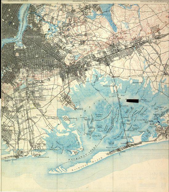 Brooklyn NY Survey Map 1888