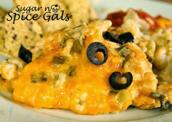 Spice Gals: Creamy Crock Pot Enchiladas