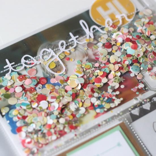 I love a pocket full of glitter