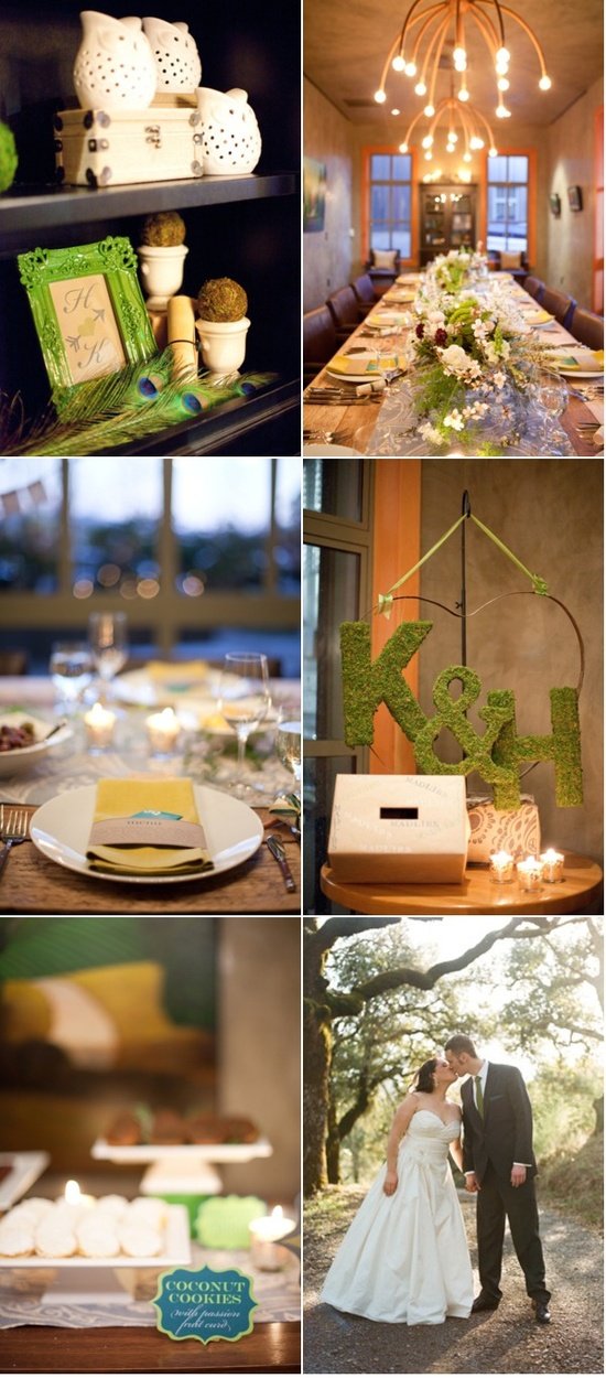 An almost completely DIY wedding on Style Me Pretty ~ stylemepretty.com... / So full of fun! Photography by christina-diane.com