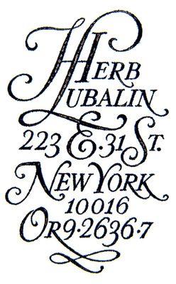 Classic Herb Lubalin